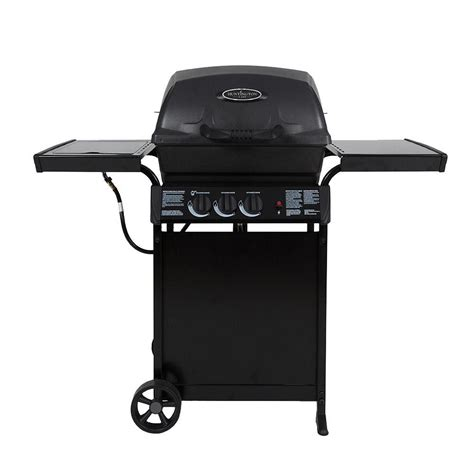 huntington pits huntington 2 burner cast aluminum propane gas grill with