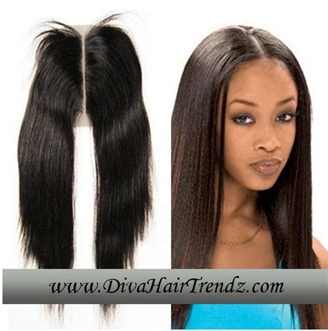 how to do a middle part closure hair style 12 quot closure straight middle part