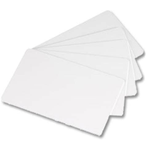 Pvc Id Card Blank cr80 blank white pvc cards wrapped in bundles of 100