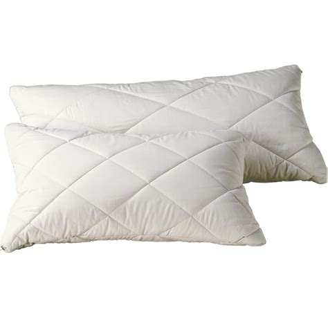 Organic Pillows Uk organic pillows organic cotton wool quilted