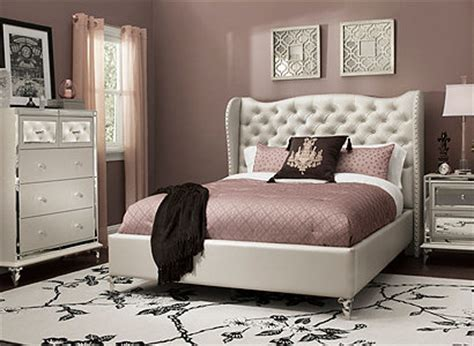 hollywood style bedroom sets hollywood loft transitional bedroom collection design