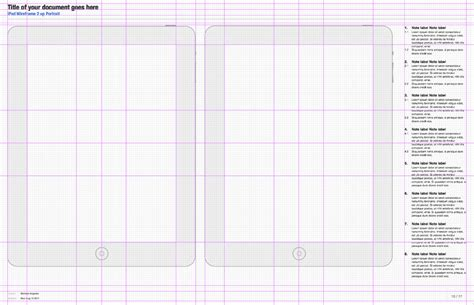 omnigraffle ux template 2 5 updated with ipad pages
