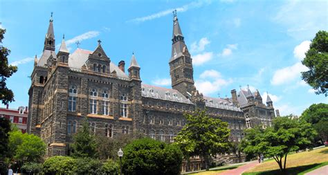 Georgetown Mba Ranking by Georgetown Admissions Top Tier Admissions