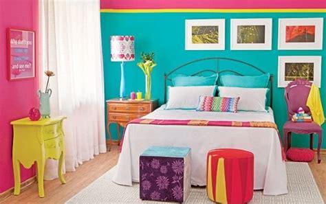 colorful bedroom wall designs como decorar mi cuarto ideas creativas hoy lowcost