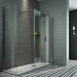 tate collection indi 1600 x 800mm walk in shower enclosure