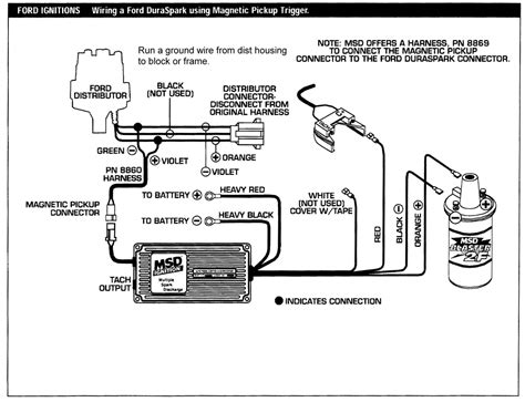 distributor to msd 6a wiring diagram get free image
