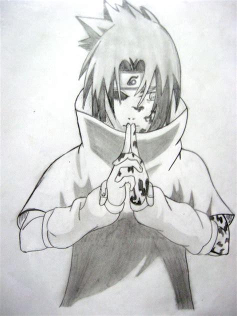 imagenes de itachi para dibujar a lapiz el blog de los dibujos