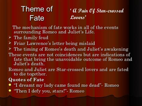 romeo and juliet character themes romeo and juliet powerpoint
