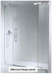 kohler shower doors parts kohler co cpsc announce recall of shower doors due to