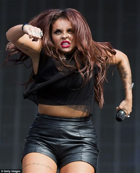 jesy nelson from little mix pulls number of fierce faces