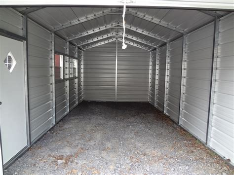 Small Metal Shelters Metal Garages Nc Steel Buildings Nc Delivered And Set