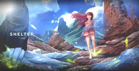 Anime Fanart Wallpaper Simulated Reality Shelter Fan By Quantumglados On