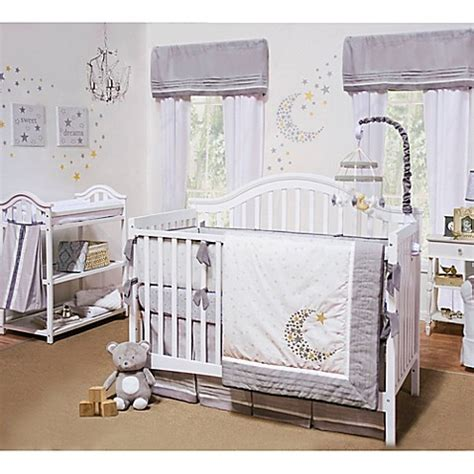 Bed Bath And Beyond Crib Bedding Buy Petit Tresor Nuit 4 Crib Bedding Set From Bed Bath Beyond