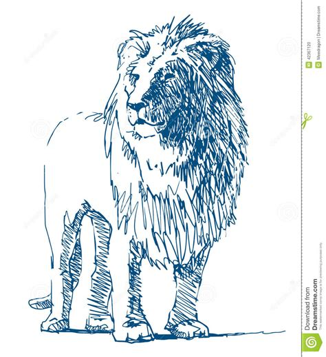 sketchbook of a zoo drawing stock vector image 42367120