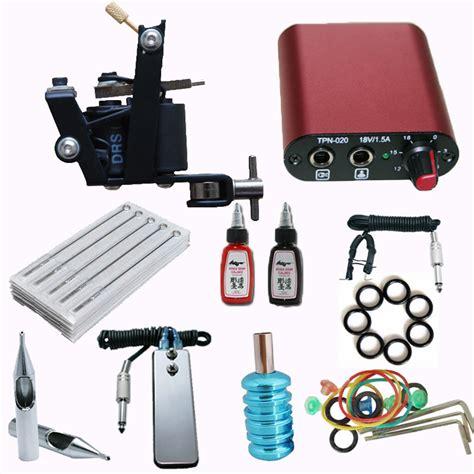 tattoo gun kit setup set up tattoo machine liner achetez des lots 224 petit prix