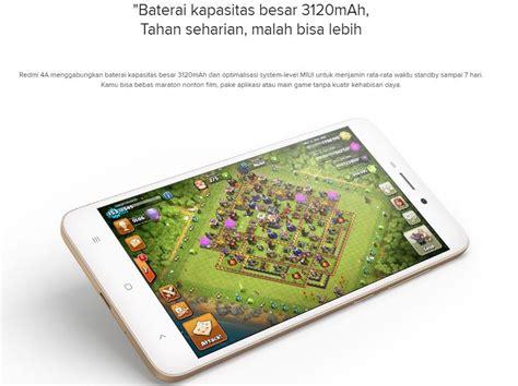 Baterai Xiaomi Redmi 4a Bn30 Originalbatrebatterybateraybatery xiaomi redmi 4a 2gb 16gb gold jakartanotebook
