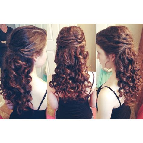Hairstyles For The School Dance | hair i did for my sister s school dance also a great
