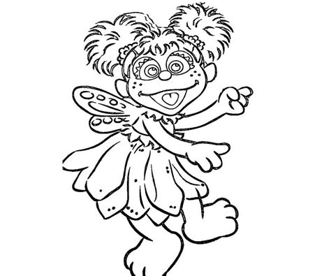 abby cadabby coloring page coloring home