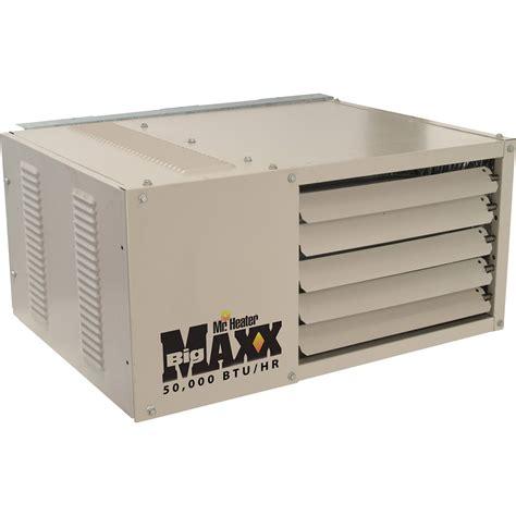 garage heater propane product mr heater big maxx propane garage workshop heater 50 000 btu model f260410