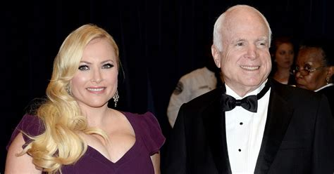 Meghan McCain Makes Emotional Tribute to Her Father While