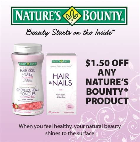 Natures Garden Coupon by Gocoupons Canada New Mail To Home Coupon Save 1 50