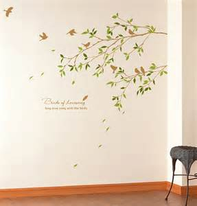 pics photos bird tree removable large wall sticker wall buy large decor removable kitchen heart home wall sticker