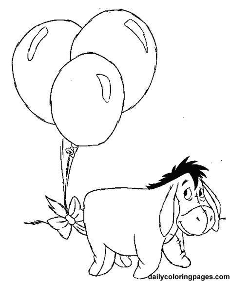 eeyore winnie the pooh coloring pages kids coloring pages