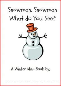 snowman book report template book template category page 1 sawyoo