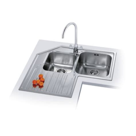 corner kitchen sinks uk franke studio stx 621 e stainless steel sink baker and soars