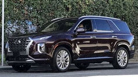 Hyundai New Suv 2020 Palisade Price by 2020 Hyundai Palisade New Three Row Suv With Bold Design