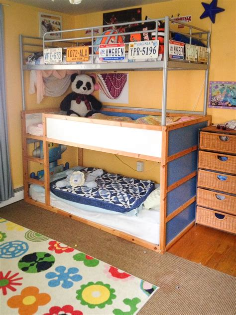 Ikea Bunk Bed Ideas Bunk Bed Ikea Sorta Hack Mothers Ikea Hacks And The O Jays