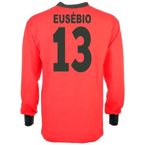 maillot r 233 tro portugal eusebio coupe du monde 1966