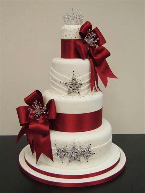 ideas  christmas wedding cakes  pinterest winter wedding cakes beautiful