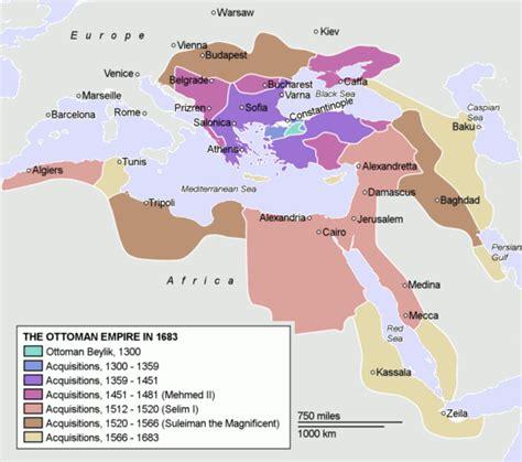 Ottoman Expansion Map Ottoman Empire