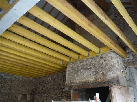 Faire Un Plancher Dans Une Grange by Faire Tenir Un Plancher Sur Un Mur En Parpaings R 233 Nover