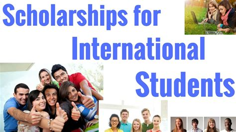 Scholarships For International Students In Usa Mba by Scholarships For International Students