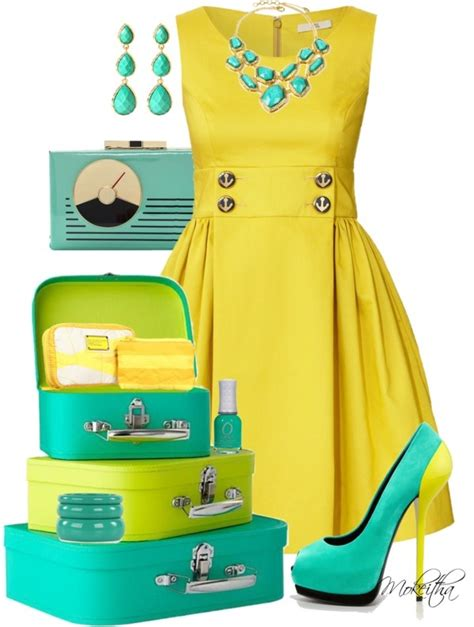 turquoise and yellow best 25 turquoise outfits ideas on pinterest