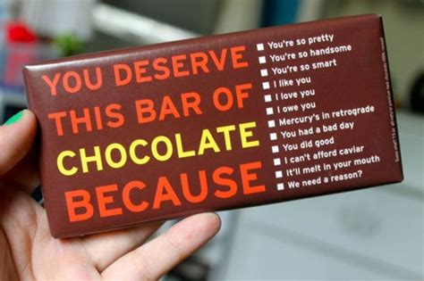 I Want Chocolate by Chocolate Excuses Neatorama