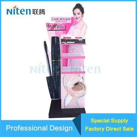 Pengertian Floor Display by Cosmetic Holder Small Footprint Floor Tiles Display Racks