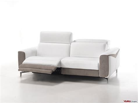 modern leather reclining sofa leather sofa with electric recliner for your head and feet