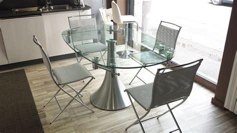 pozzoli tavoli e sedie pozzoli tavolo flute rotondo allungabile vetro tavoli a