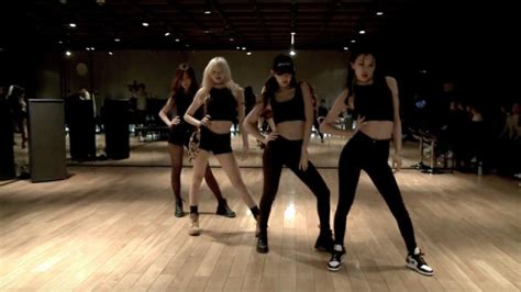 black pinks dance practice video hits   milestone