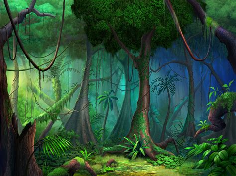 libro the faery forest an rain forest wall mural by philip straub wallsauce