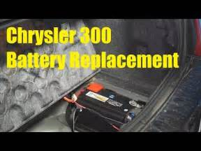 Chrysler 300 Battery Location Chrysler 300 Battery Replacement The Battery Shop