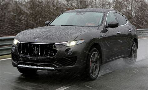 maserati kubang black 2017 maserati levante suv first drive review car and