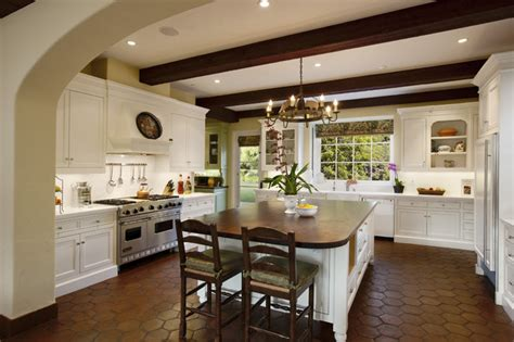kitchen cabinets in spanish spanish colonial mediterranean kitchen santa barbara