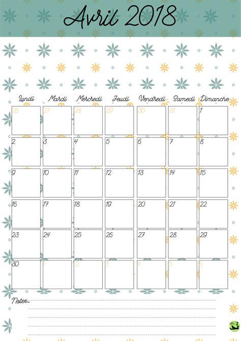 calendrier 2017 2018 gratuit 224 imprimer