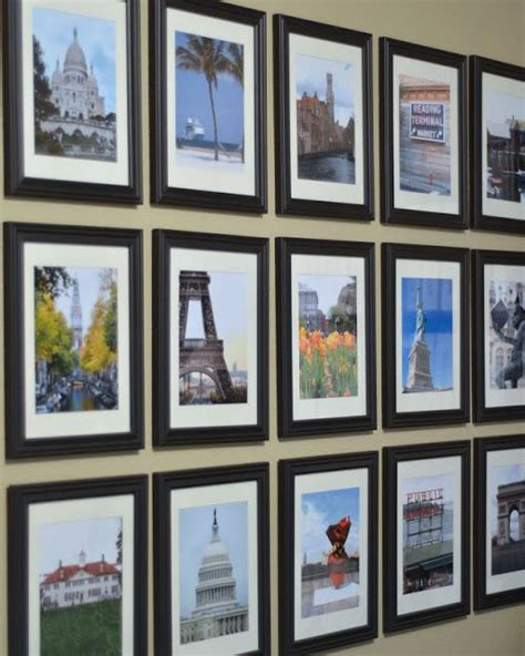 travel wall ideas 25 best ideas about travel photo displays on pinterest