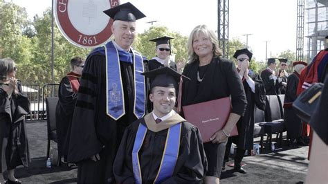 Surprised With Honorary Mba by California Student S Gets Honorary
