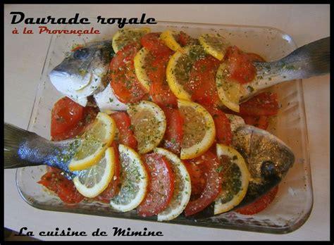 cuisiner la daurade daurade royale au four 233 cailles de tomate et citron la
